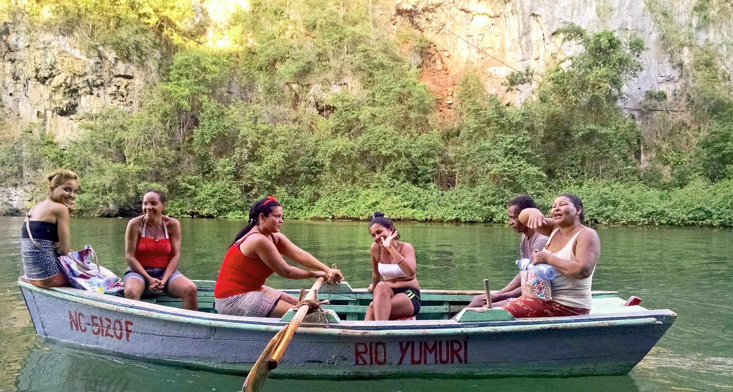 Boat on Yumuri river