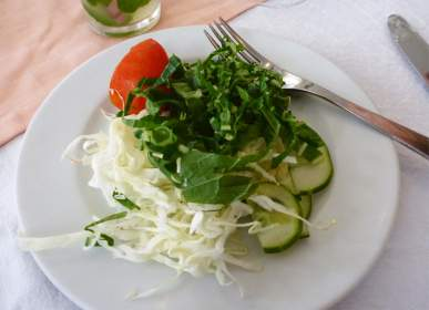 Salad - Lots of this back in the day